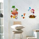 HEMU-SH-847 Mushroom Couple - Wall Decals Stickers Appliques Home Decor