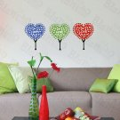HEMU-TC-1070 Happy Hope Love - Wall Decals Stickers Appliques Home Decor 12.6 BY 23.6 Inches