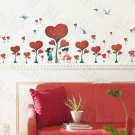 HEMU-XS-038 Definitive Love - Large Wall Decals Stickers Appliques Home Decor