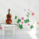 HEMU-XS-051 Morning Glory - Large Wall Decals Stickers Appliques Home Decor