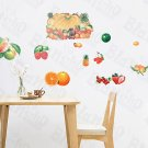 HEMU-XS-060 Fruits Collection - Large Wall Decals Stickers Appliques Home Decor