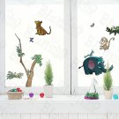 HEMU-ZS-009 Animal Friends-5 - Wall Decals Stickers Appliques Home Decor