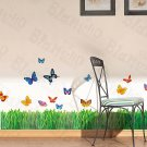 HEMU-ZS-019 Flying Butterflies-1 - Wall Decals Stickers Appliques Home Decor