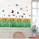 HEMU-ZS-020 Flying Butterflies-2 - Wall Decals Stickers Appliques Home Decor