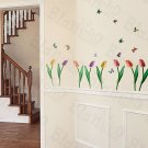 HEMU-ZS-026 Flying Butterflies-3 - Wall Decals Stickers Appliques Home Decor