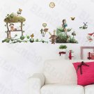 HEMU-ZS-049 Village 3 - Wall Decals Stickers Appliques Home Decor