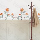 HEMU-ZS-079 Flower Decor-3 - Wall Decals Stickers Appliques Home Decor