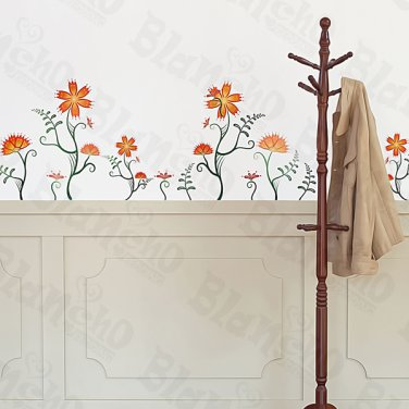 HEMU-ZS-079 Flower Decor-3 - Wall Decals Stickers Appliques Home Decor