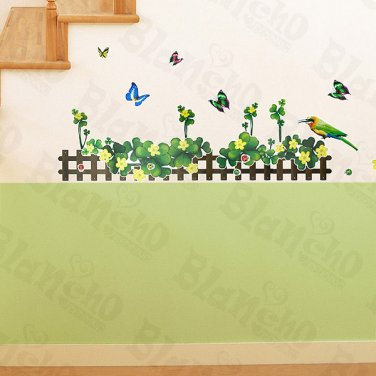 HEMU-ZS-085 Sweet Palisade - Wall Decals Stickers Appliques Home Decor