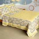 QTS-WB8032-23 [Gentle Protection] Cotton 3PC Patchwork Quilt Set (Full/Queen Size)