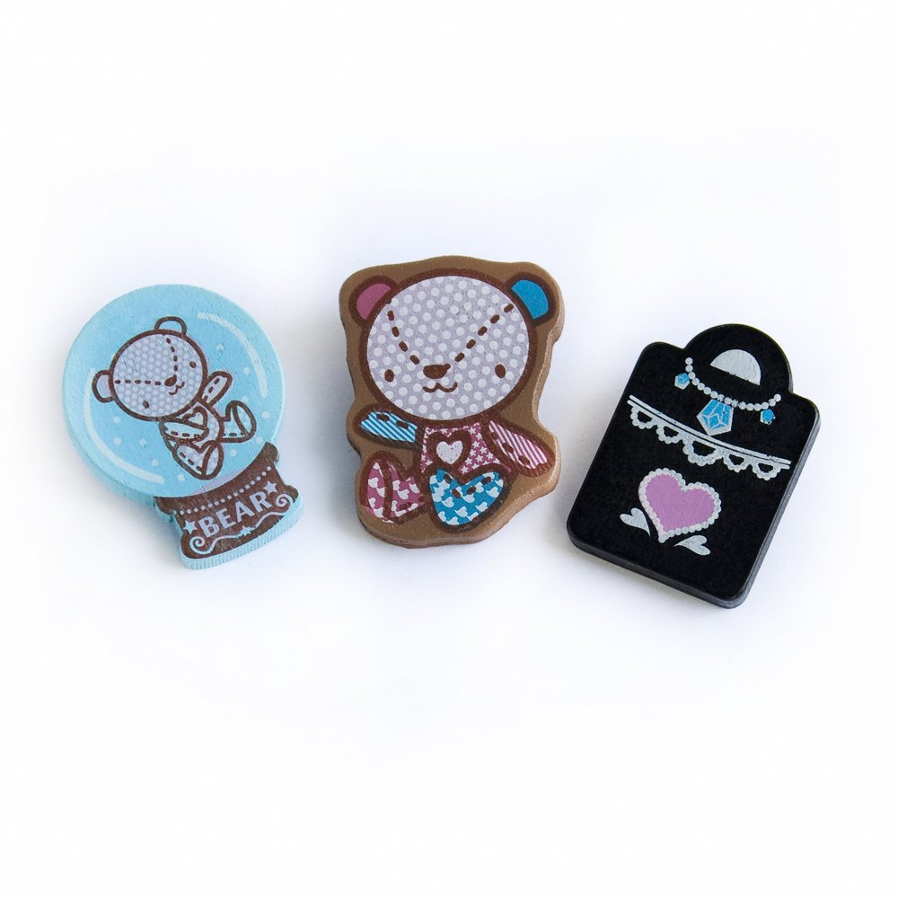 HC-BP002-C[Colorful Brooch-C] - Brooch / Brooch Pin / Animal Pin Brooch
