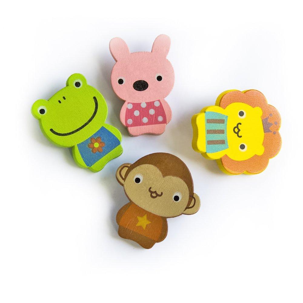 HC-BP004-MRLF[Cute Animals-2] - Brooch / Brooch Pin / Animal Pin Brooch