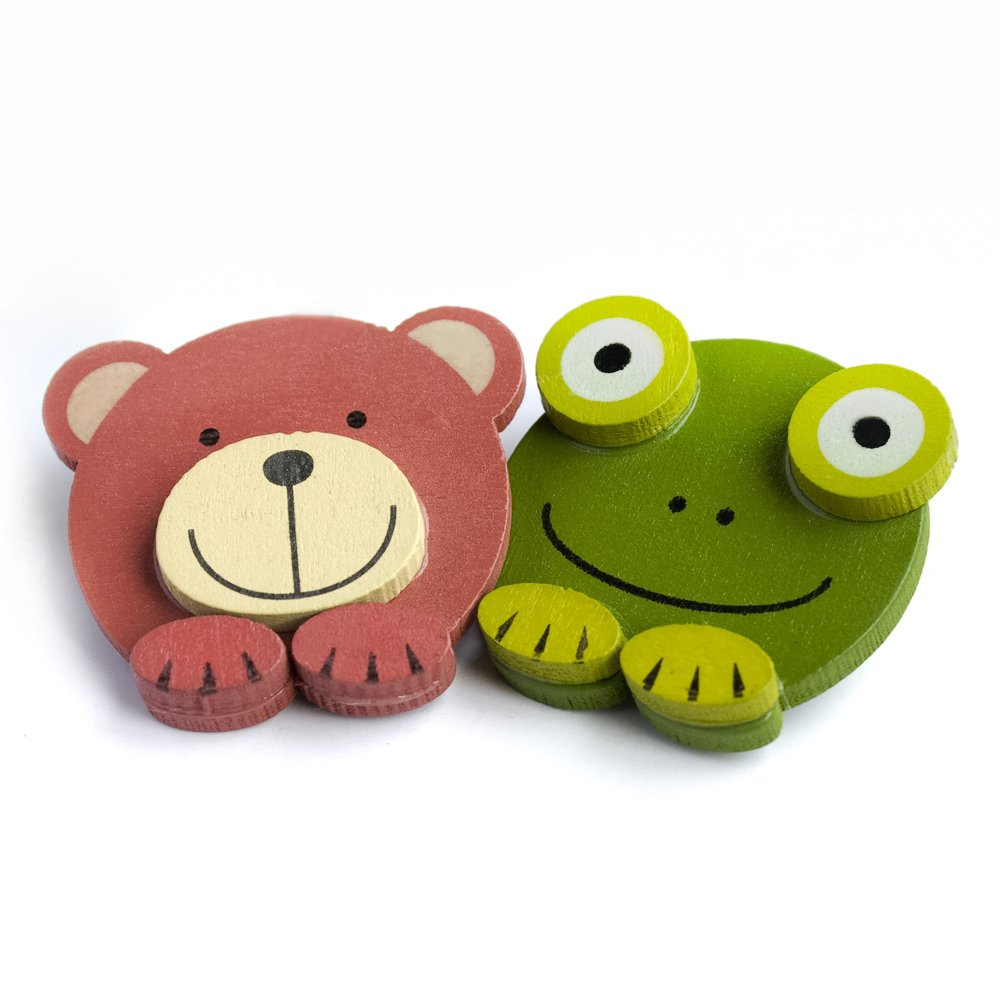HC-BP005-FRBE[Frog & Bear] - Brooch / Brooch Pin / Animal Pin Brooch