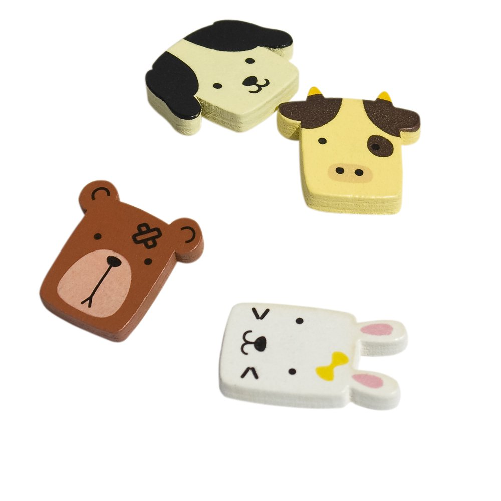 HC-RM001-BRCF[Lovely Animals-1] - Refrigerator Magnets / Animal Magnets