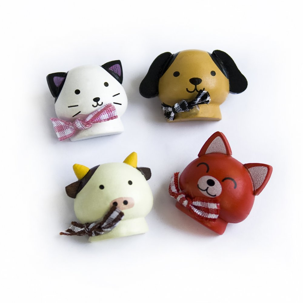 HC-RM002-FDDC[Happy Animals-2] - Refrigerator Magnets / Animal Magnets