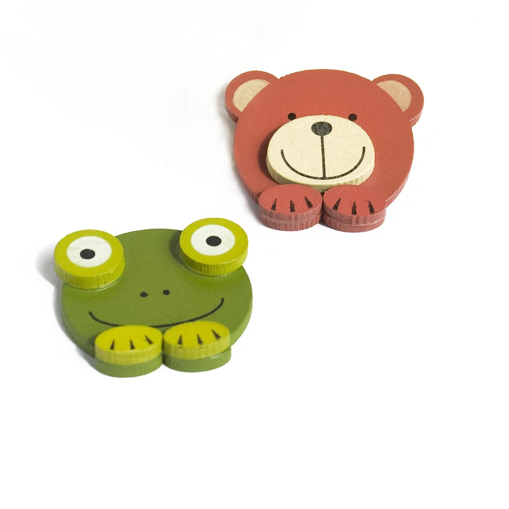 HC-RM006-FRBE[Cute Animals-1] - Refrigerator Magnets / Animal Magnets