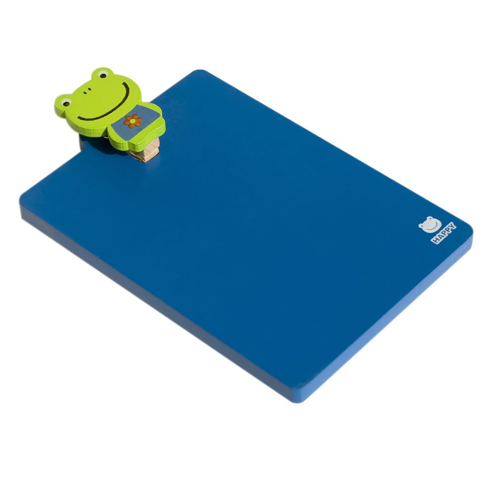 HC-RMC002-FROG[Lovely Frog] - Refrigerator Magnet clip / Magnetic Clipboard