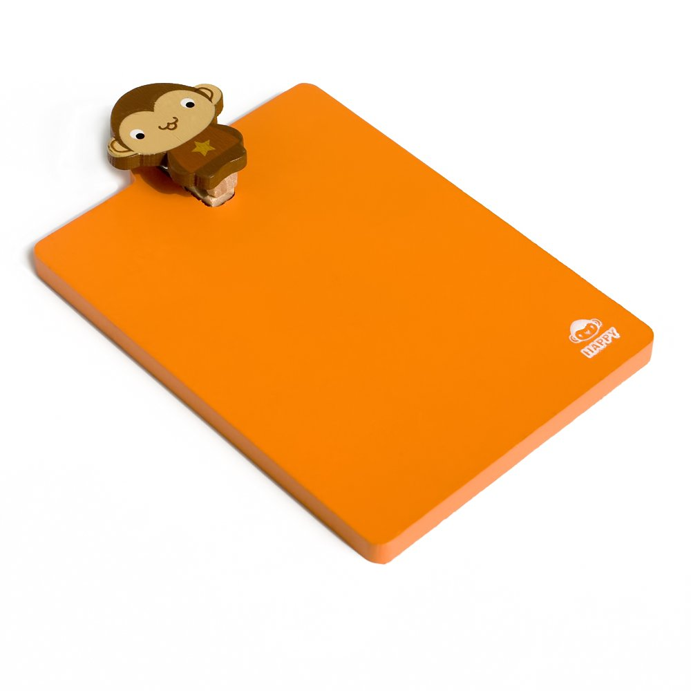 HC-RMC002-MONKEY[Lovely Monkey] - Refrigerator Magnet clip / Magnetic Clipboard