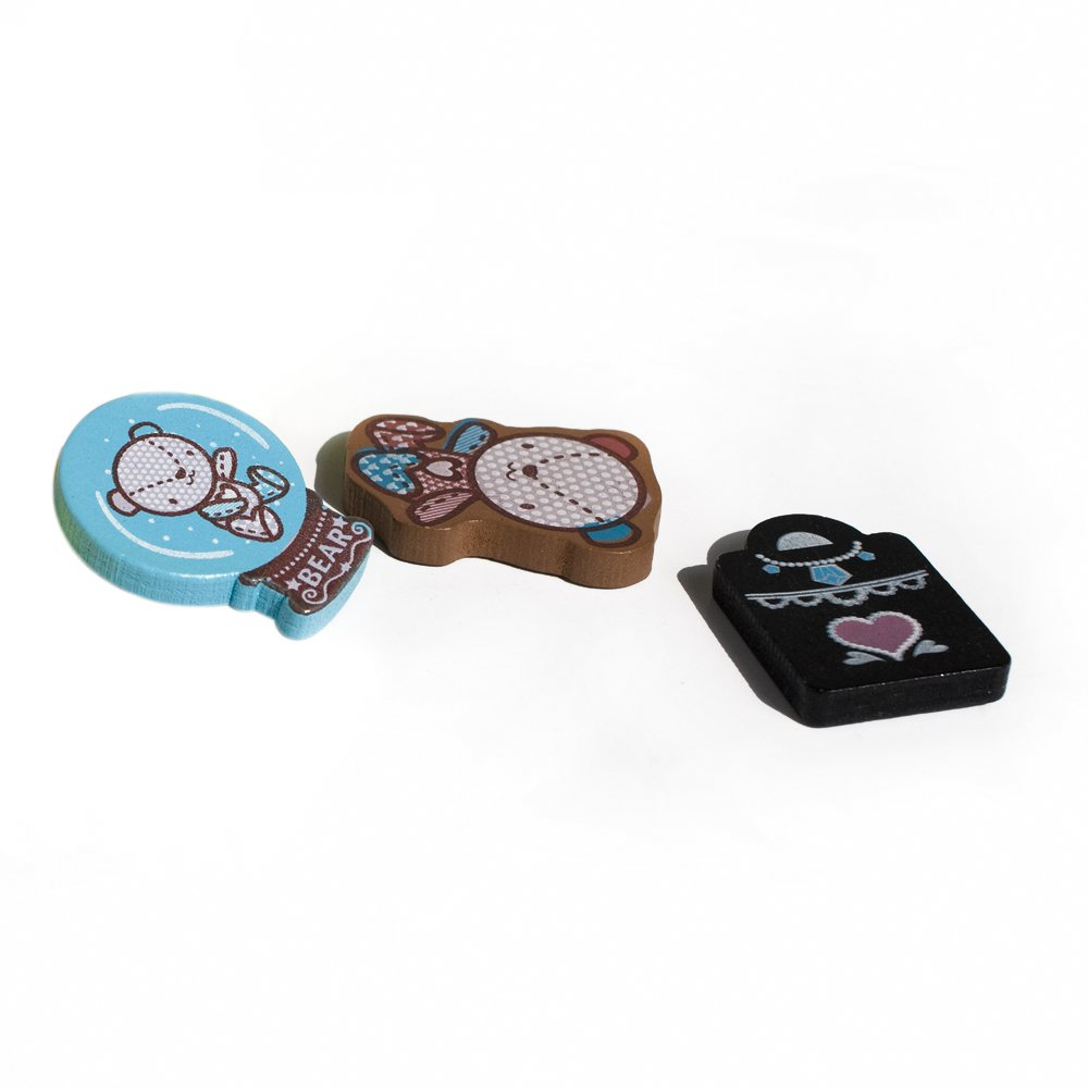 HC-RM010-C[Colorful Life-3] - Refrigerator Magnets / Animal Magnets
