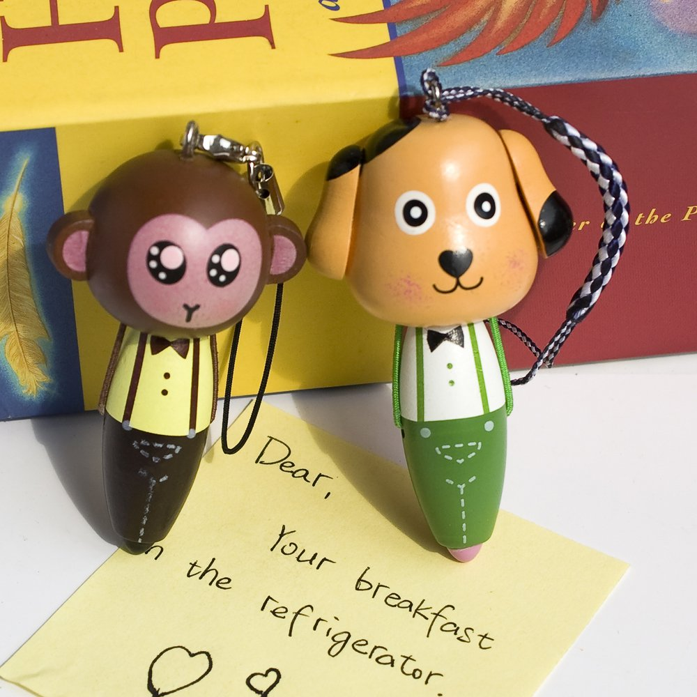 HC-C011-MODO[Monkey & Dog] - Cell Phone Charm Strap / Camera Charm Strap / Handbags Charms