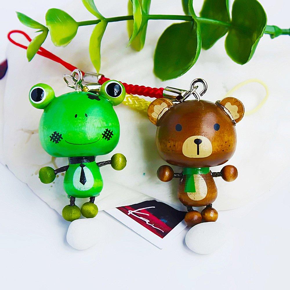 HC-C013-BEFR[Happy Animals-1] - Cell Phone Charm Strap / Camera Charm Strap / Handbags Charms