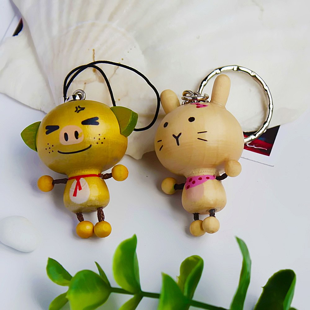 HC-C013-RAPI[Happy Animals-3] - Cell Phone Charm Strap / Camera Charm Strap / Handbags Charms