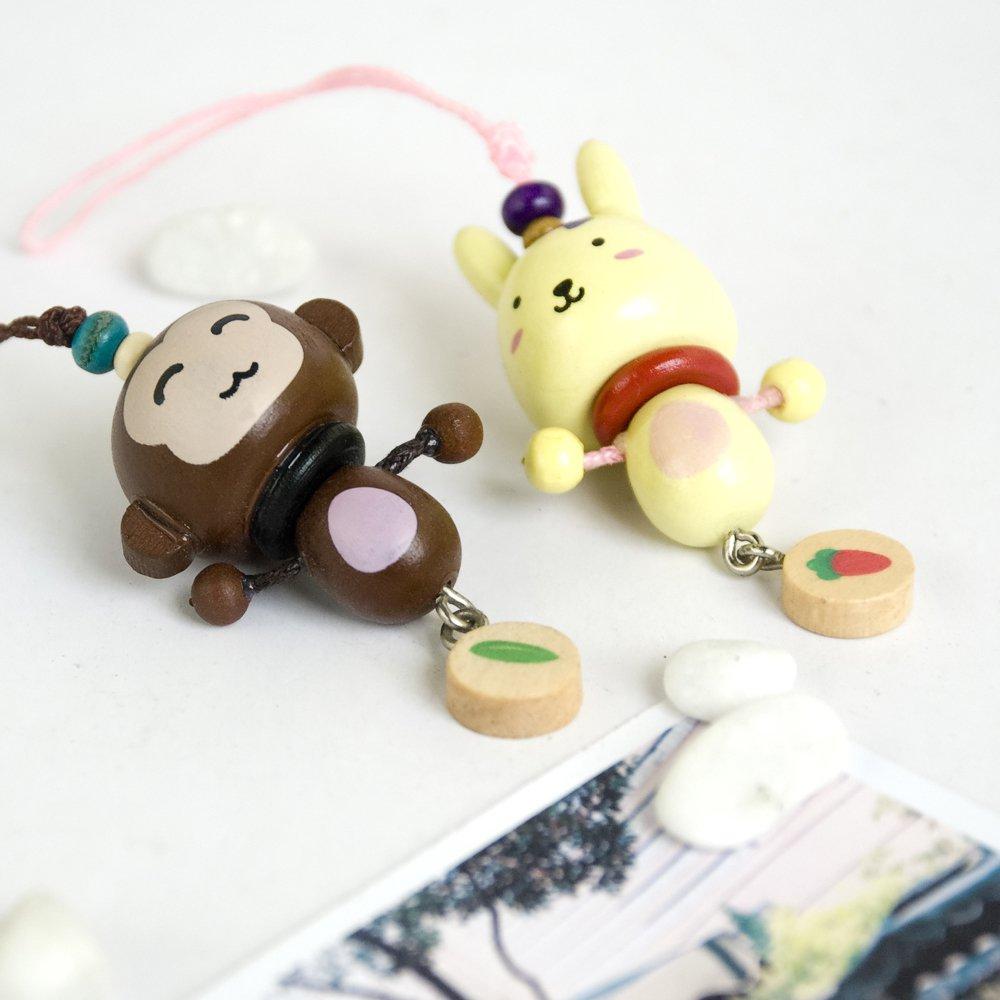 HC-C015-MORA[Lively Animal-2] - Cell Phone Charm Strap / Camera Charm Strap / Handbags Charms