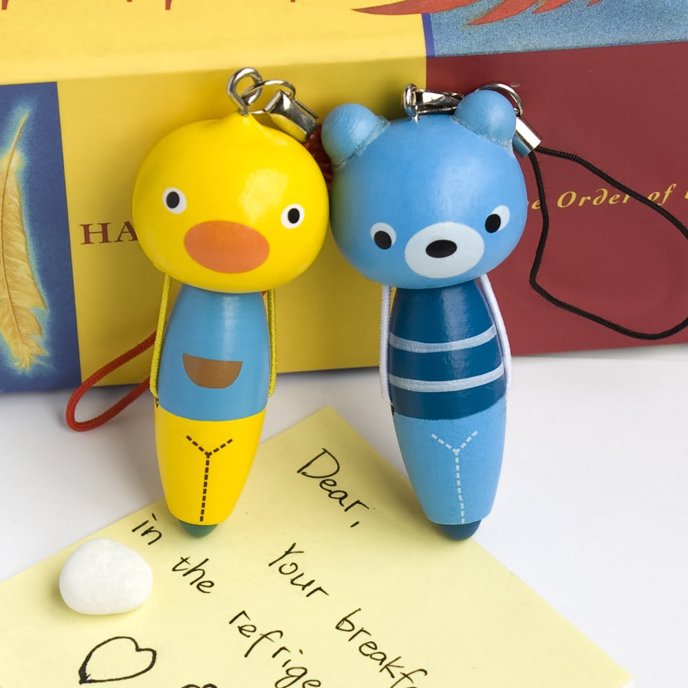 HC-C027-BEDU[Animal Pen-3] - Cell Phone Charm Strap / Camera Charm Strap / Handbags Charms