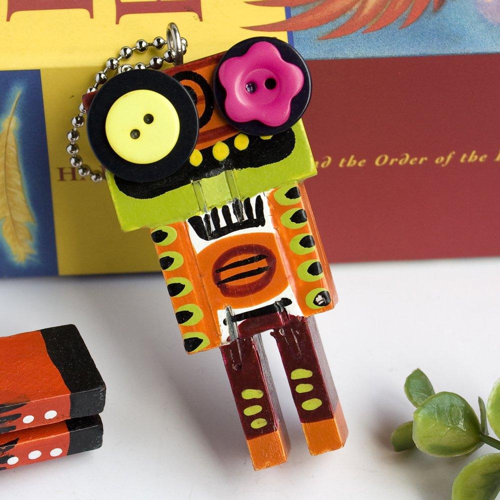 HC-C031-B[Rational Robot-B] - Cell Phone Charm Strap / Camera Charm Strap / Handbags Charms