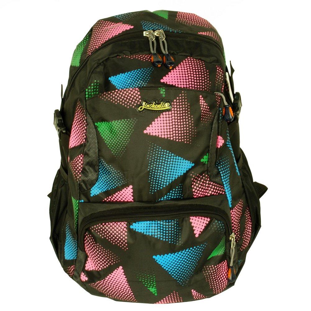 BP-WDL019-BLUE[Carpe Dieme] Multipurpose Outdoor Backpack /  School Bag - Blue & Pink