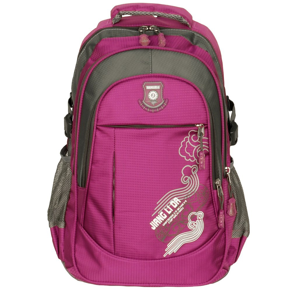 BP-WDL015-PURPLE[Rossonero Looked ] Multipurpose Outdoor Backpack /   School Bag -Purple