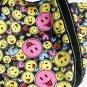 ILEA-ABP-06087[Happiness] Cotton Eco Canvas Shoulder Tote Bag / Multiple Pockets
