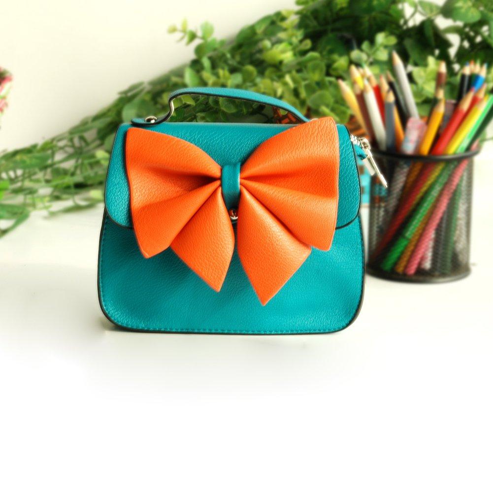 FB-BX067-BLUE[Bright Ocean] Colorful Leatherette Clutch Shoulder Bag Clutch Casual Purse