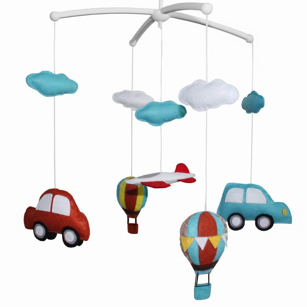 BC-BAB-ONIM0001-MIKI-CATH Handmade Crib Mobile Crib Decorations Cute Baby Mobile Educational Toy