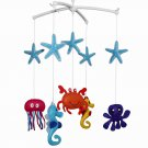 BC-BAB-ONIM0018-MIKI-CATH Lovely Infant Music Mobile Handmade Baby Crib Mobile [ Underwater World ]