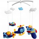 BC-BAB-ONIM0045-WING-EMMA [Plane] Creative Crib Mobile Infant Bed Hanging Bell Crib Toy