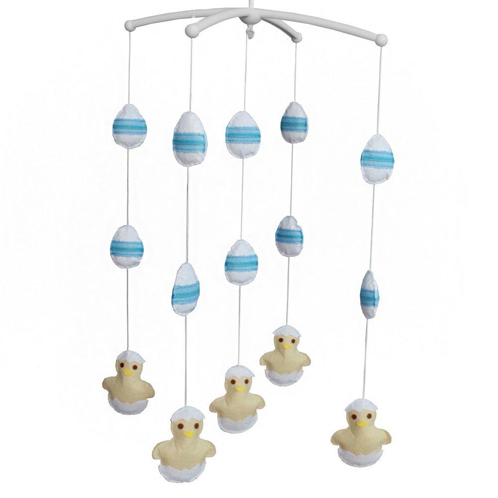 BC-BAB-ONIM0054-BELL-CELI [Newborn] Hanging Bell Mobile Baby Bed Musical Crib Mobile