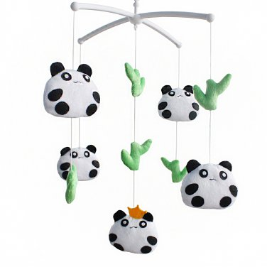BC-BAB-ONIM0162-WING-CELI Super Cute Handmade Hanging Plush Toys, Infant Crib Musical Mobile