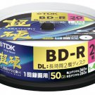 20 TDK BD-R 50GB 4x