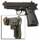 Metal Alloy Beretta Type Airsoft Pistol