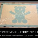 Teddy Bear Hugs - Afghan Crochet Graph Pattern Chart