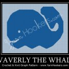 Waverly the Whale - Afghan Crochet Graph Pattern Chart