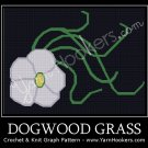 Dogwood Grass - Afghan Crochet Graph Pattern Chart