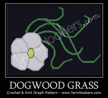 Dogwood Grass - Afghan Crochet Graph Pattern Chart