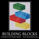 Building Blocks - Afghan Crochet Graph Pattern Chart