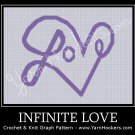 Infinite Love - Afghan Crochet Graph Pattern Chart