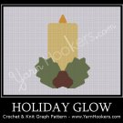 Holiday Glow - Afghan Crochet Graph Pattern Chart