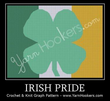 Irish Pride - Afghan Crochet Graph Pattern Chart