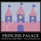 Princess Palace  - Afghan Crochet Graph Pattern Chart