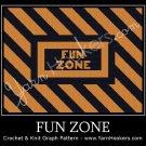 Fun Zone - Afghan Crochet Graph Pattern Chart